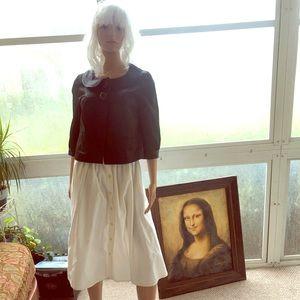 Lovely Vintage Button Down Skirt Gloria Vanderbilt
